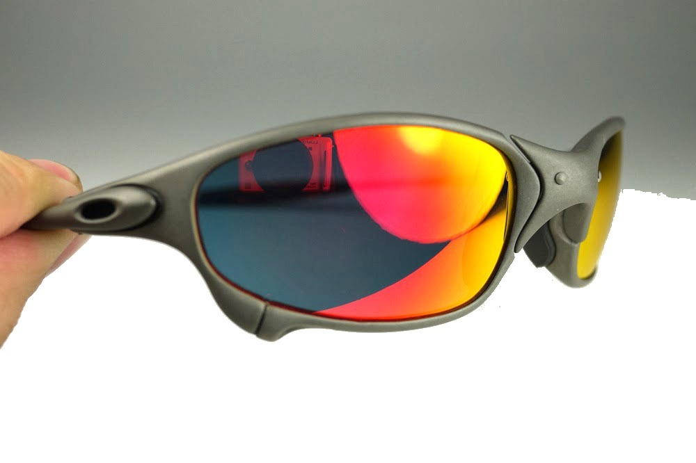 Carregando zoom... óculos oakley juliet fosco polarizado + lente brinde 2738700d7a3