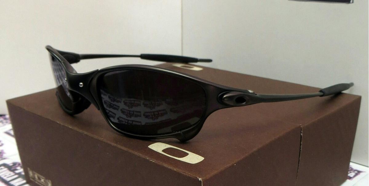 9c71d7e09012f Óculos Oakley Juliet - Carbon   Black   Borrachinhas Pretas - R  150 ...