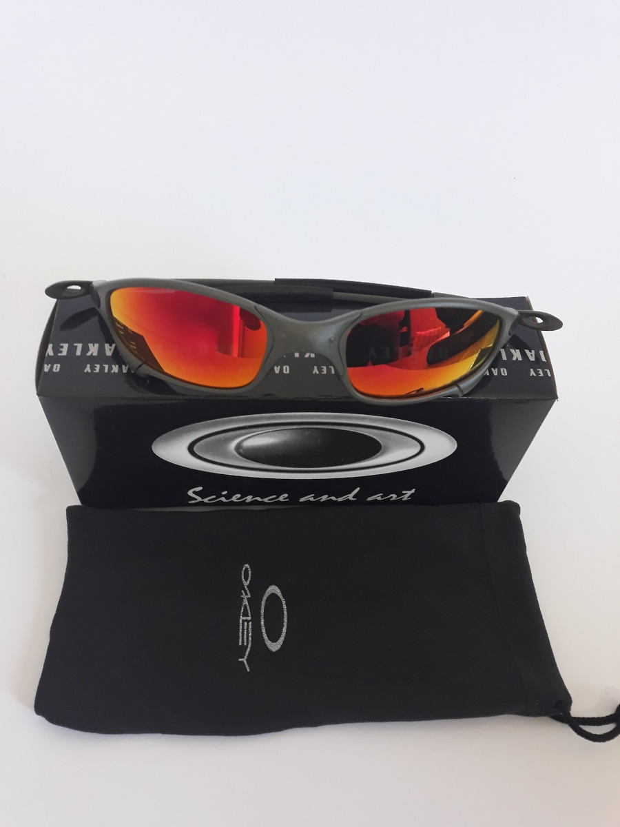 deabef4dee356 Lupa Óculos Oakley Juliet Double Xx 24k Romeo Atacado Kit 5 - R  390 ...