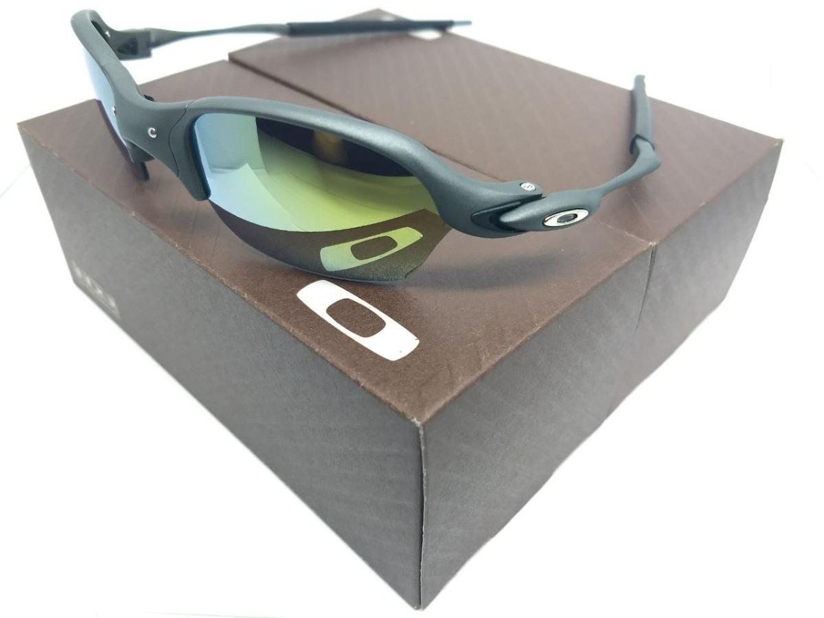 fb5682d4e Óculos Oakley Badman Juliet Double Xx Squared 24k Penny Mars - R$ 120,00 em  Mercado Livre