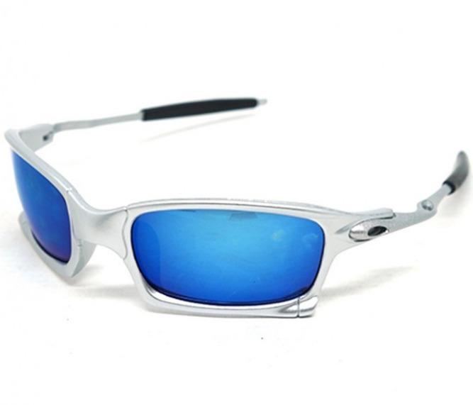 914976cb9b3cc Óculos De Sol Oakley Juliet Squared X-metal Prata - R  80,00 em ...