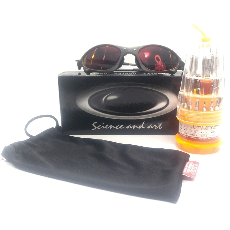 84cb02f06be88 Oakley Juliet Penny Xmetal Fire Red + Kit Chave - R  89,99 em ...