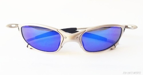ce1cee98c Oakley Juliet Titanium Neon Blue Original Numeracao 12x - R$ 1.300 ...
