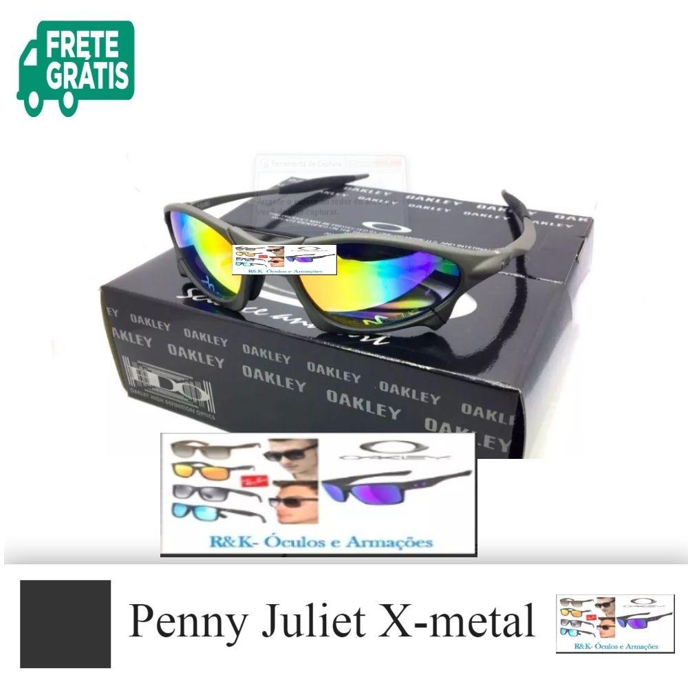 48c3a740ab336 Oakley Juliet X-metal Arco Iris Polarizado - R  120,00 em Mercado Livre