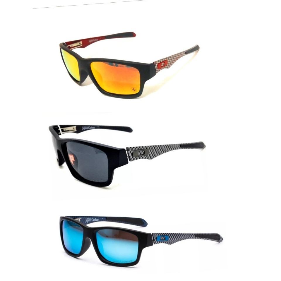 Óculos Oakley Jupiter Carbon - Ferrari Lente 100% Polarizada - R ... 188a43d30f