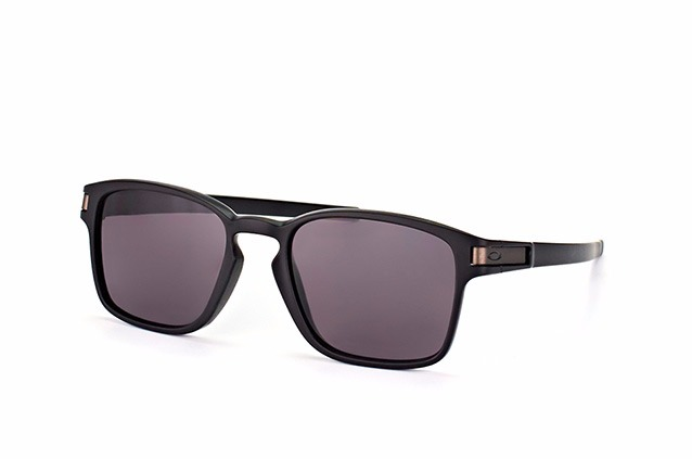 Oakley Latch Sq Oo9353-01 Matte Black W warm Grey Original - R  495 ... e8c315465a