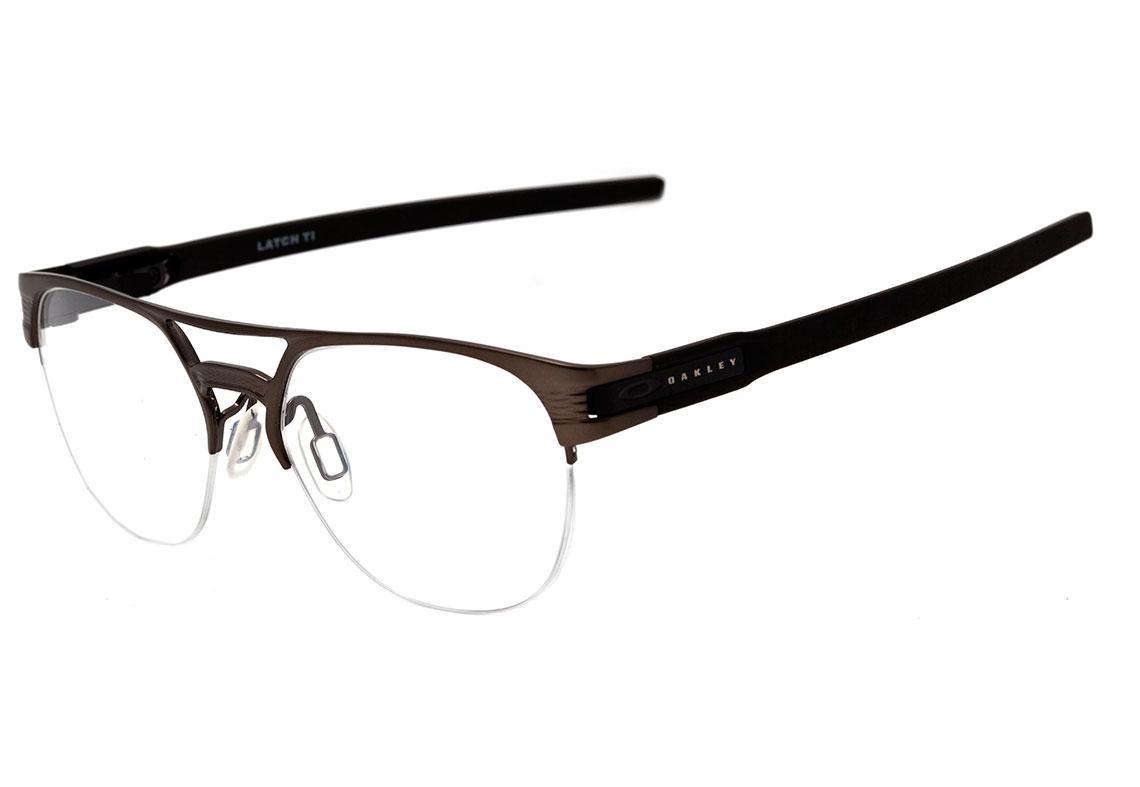 4f060ea62 Oakley Latch Ti - Óculos De Grau Pewter - R$ 908,10 em Mercado Livre