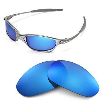 5dbddb40d8 Oakley Lentes Cristales Para Oakley Juliet Blue Iridium - $ 1.299,00 ...