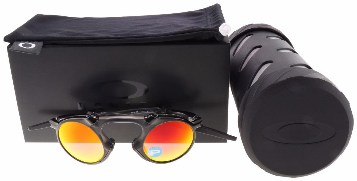 7c8f2dbfad oakley madman sunglasses oo6019-04 dark carbon   lunas ruby. Cargando zoom.