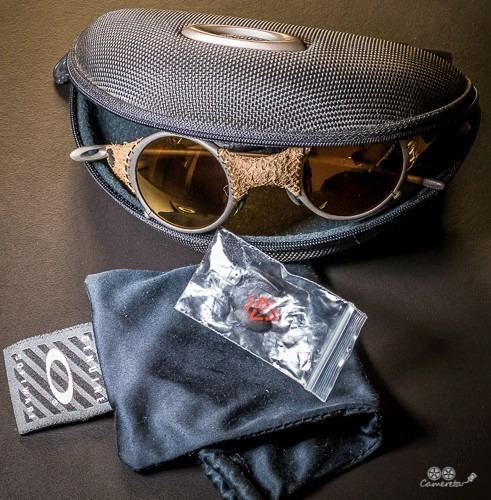 971c4cf5adc5a Oakley Mars Leather Ed. Michael Jordan! Para Colecionadores. - R ...