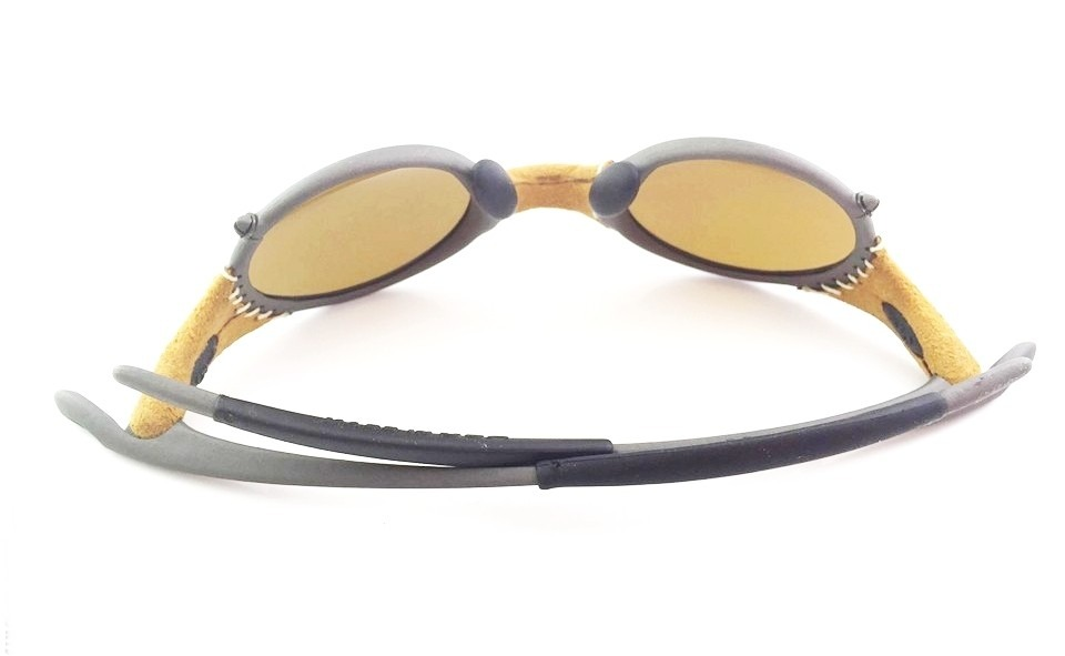 Oakley Mars X Metal Leather Gold Michael Jordan Original - R  2.700 ... 4a8027dece