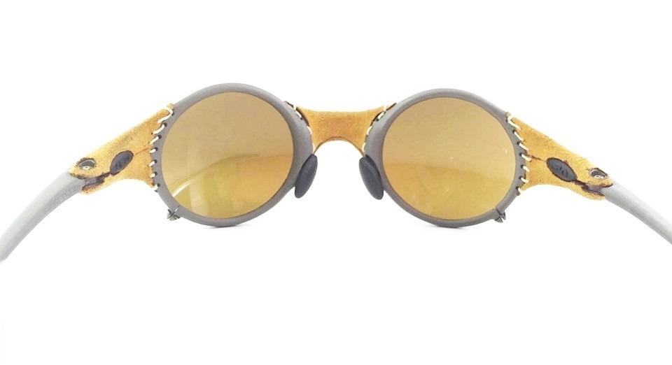 oakley mars x metal leather gold michael jordan original. Carregando zoom. 0770b0618f