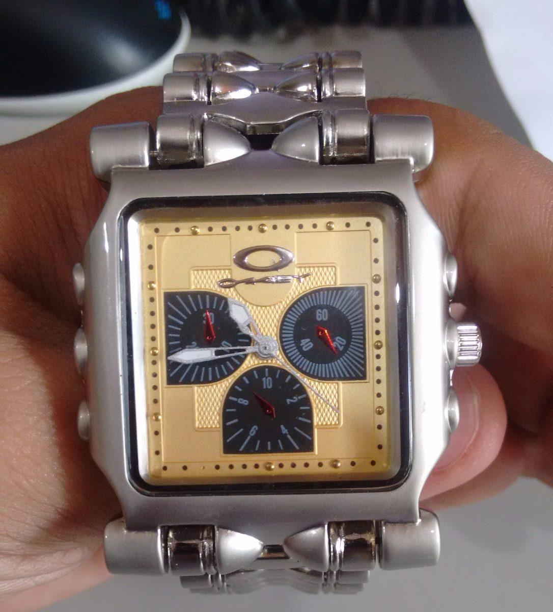 f5bf57f3c86a3 Relógio Oakley Tank Minute Machine Masculino - Frete Gratis - R  66 ...