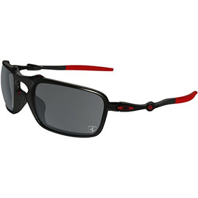 3c7331d3dd Oakley Mens Badman Ferrari Sunglasses One Size Dark Carbon/b