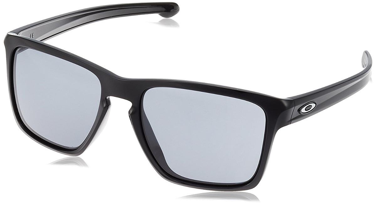 639ac9b595 Oakley Men's Sliver Xl (a) Gafas De Sol Cuadradas, Negro ...