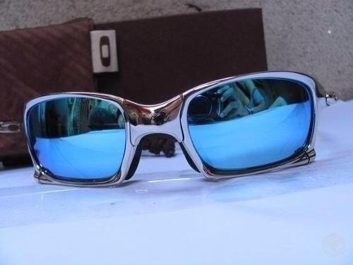 Oakley Metal Polarizado Double X Juliet 24k Squared Ice Thug - R ... 14de036a2d