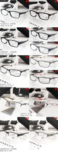oakley monturas oftalmicas de medida variedad de modelos