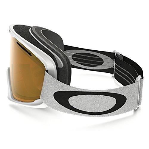 oakley o2 xl gafas de nieve, blanco mate