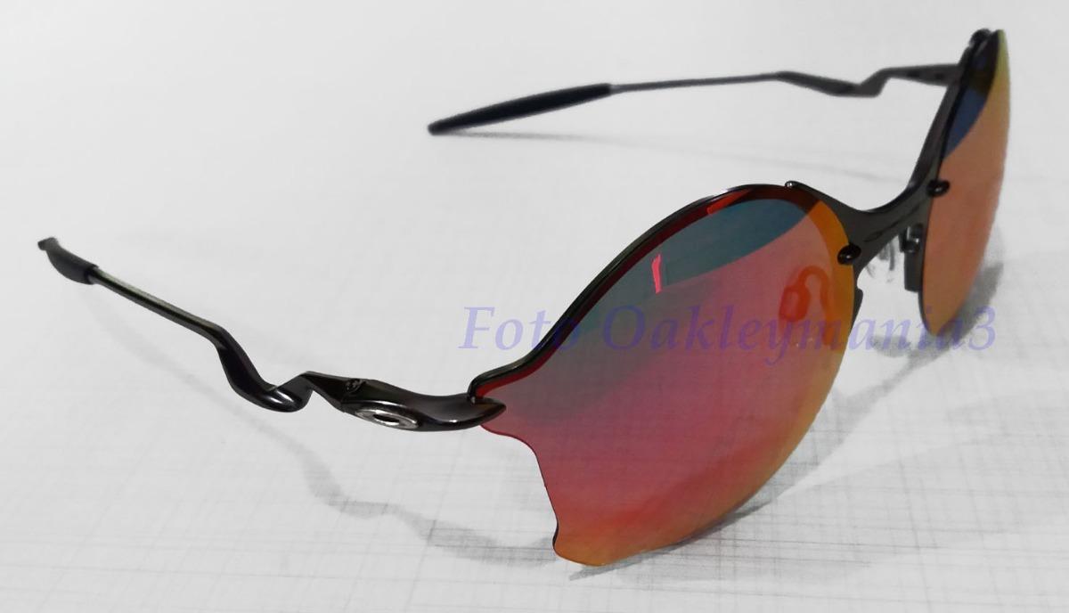 Carregando zoom... oculos oakley tailend grafite lente fire ruby + case  oakley d74b7d9f63
