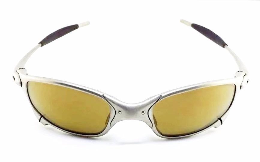 Oakley Oculos Juliet Titanium Gold ( 1 Geracao ) Original - R  1.450 ... a4bc6f3a50