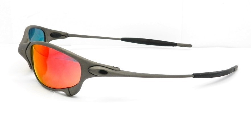 b25c4fe6f1bab Oakley Oculos Juliet X Metal Ruby Iridium Na Caixa Novo - R  3.300 ...