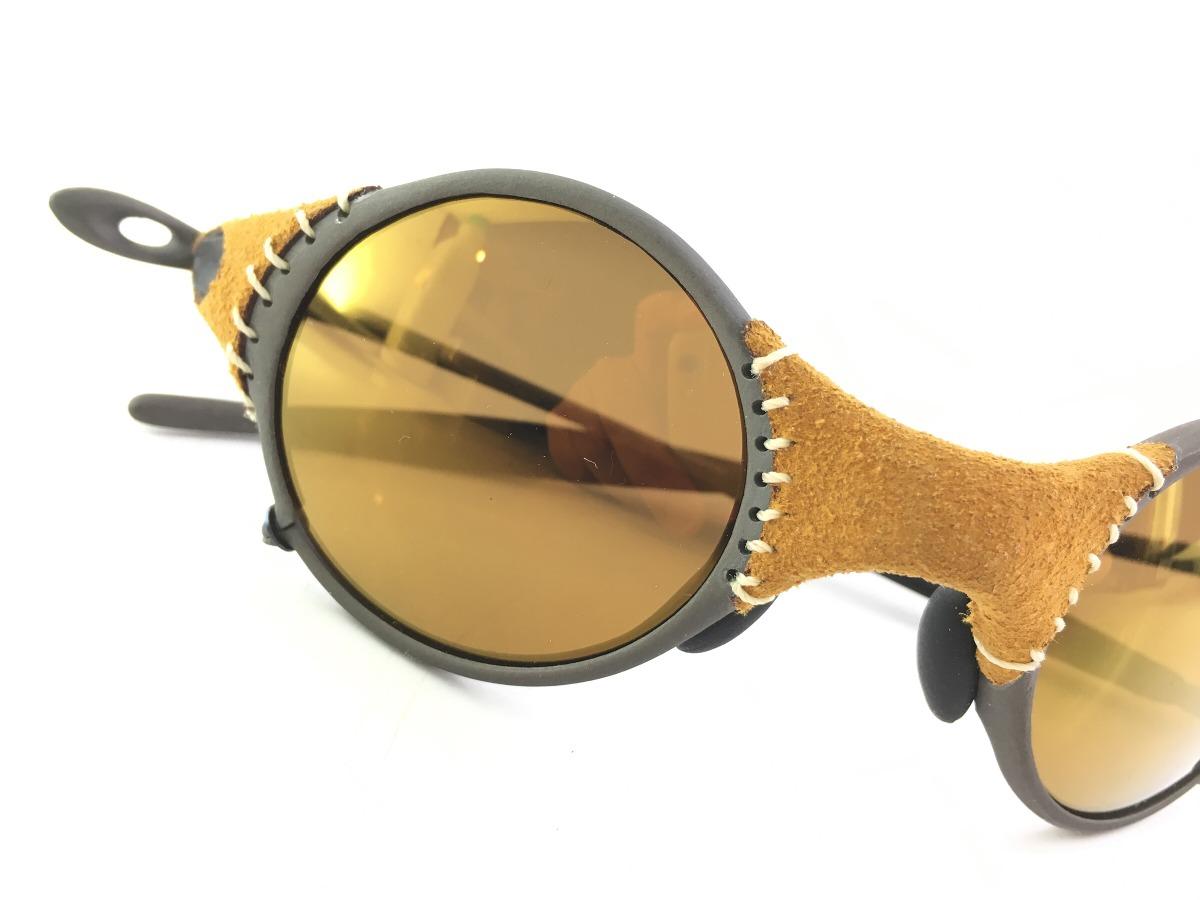 09162a999afe6 Oakley Óculos Mars Leather Gold Jordan Original - R  2.700,00 em ...