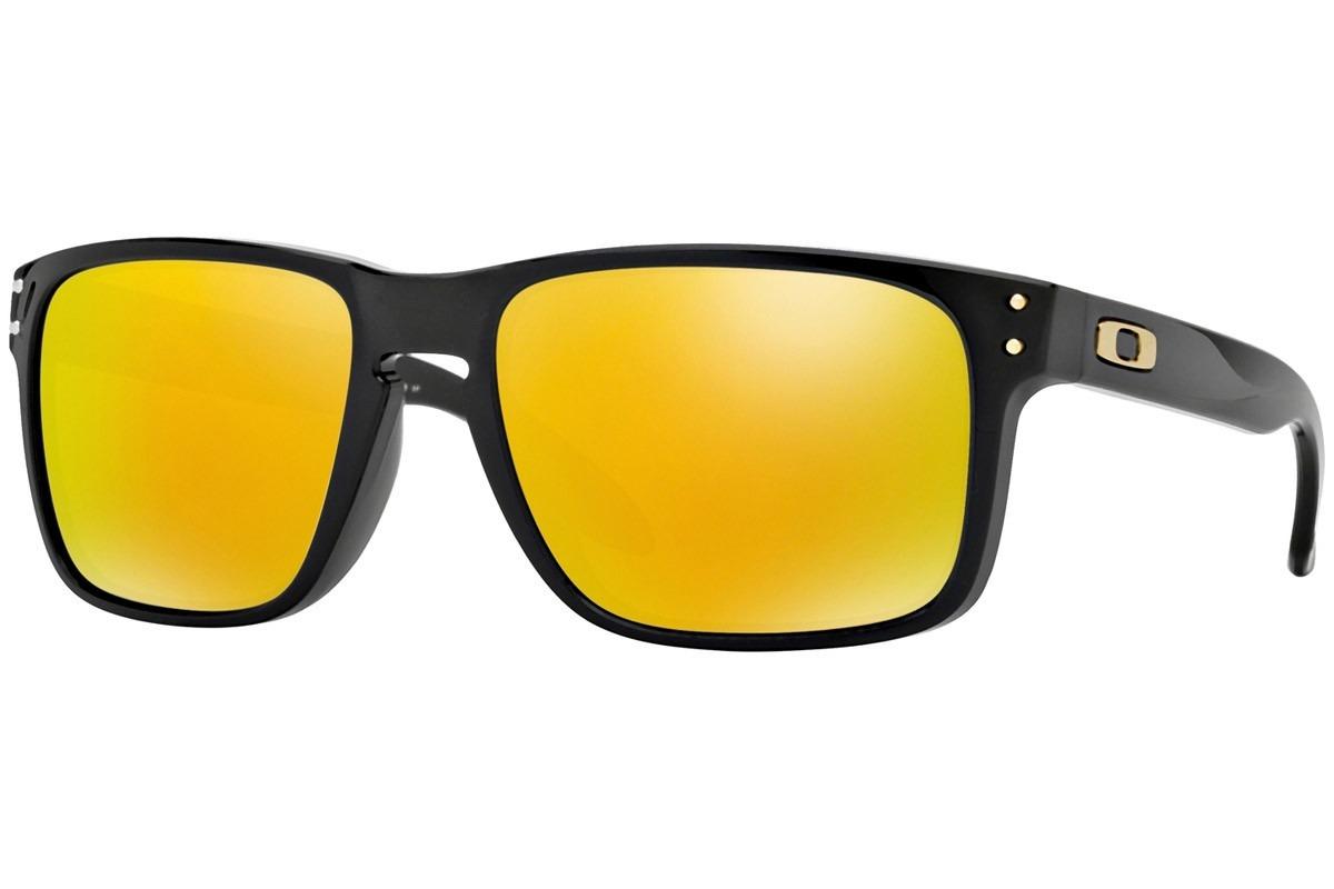 690b7e0fcc oakley oo9102 08 holbrook dorado flash polarized +metal case. Cargando zoom.
