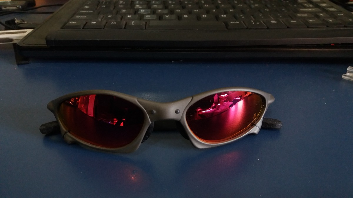 oakley penny xmetal lente blackruby+lente icethug+jogochaves. Carregando  zoom. ac5b988856