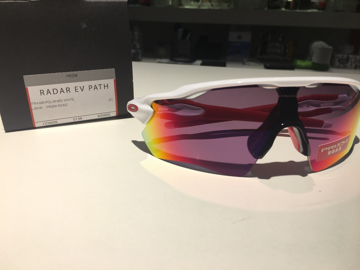 7a48174b1729c Oakley Performance Radar Ev Path White Lente Prizm Road Bike - R ...