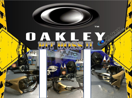 oakley pit boss 2 100% original, onlytech importaciones