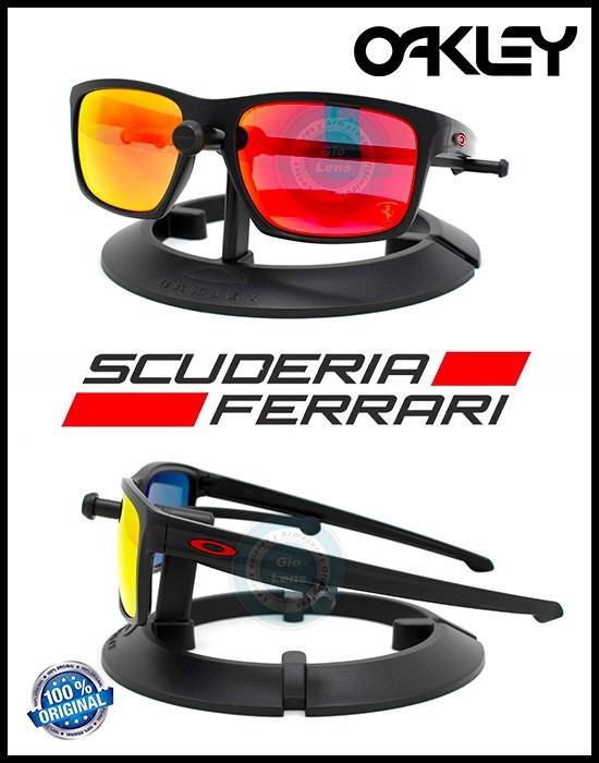 21aaf4b8d256e Oakley Sliver Ferrari Matte Black   Ruby Iridium 9262-12 ...