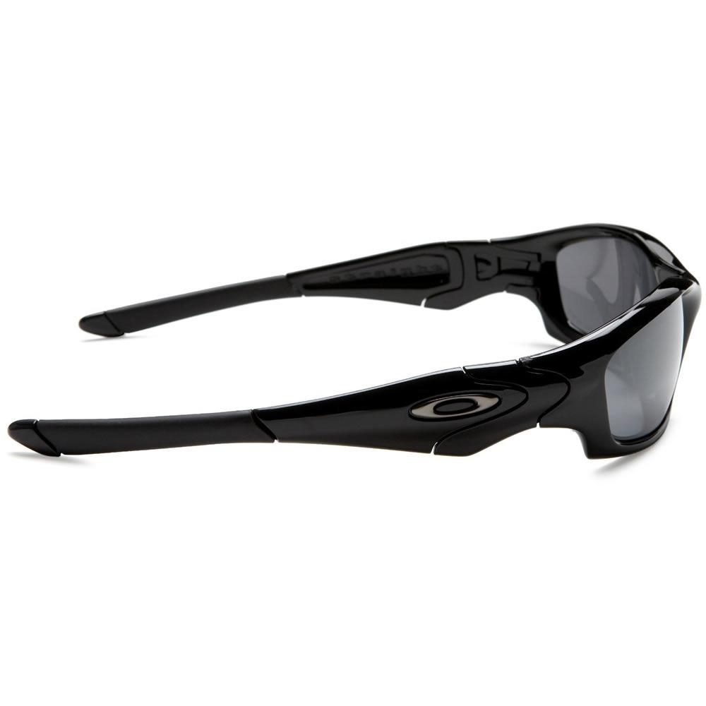 7af8da43bc6 Oakley Straight Jacket Polished Black With Black Iridium Polarized ...