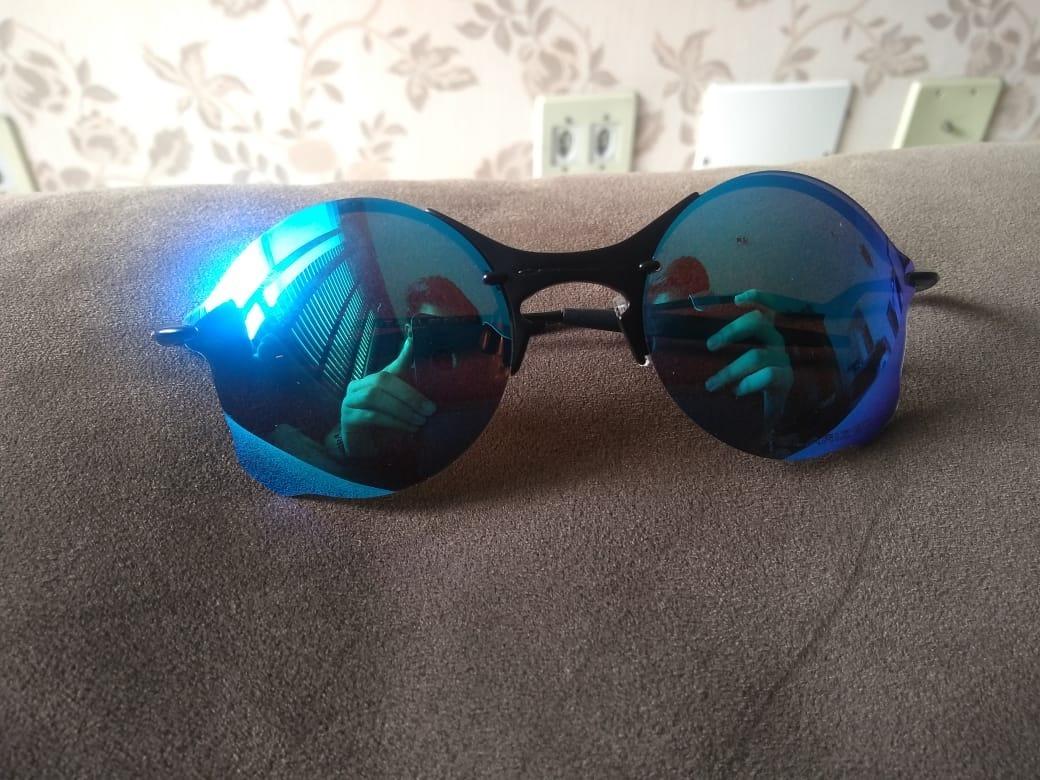 e2e41dad3c458 oakley tailend azul com lentes polarizadas. Carregando zoom.