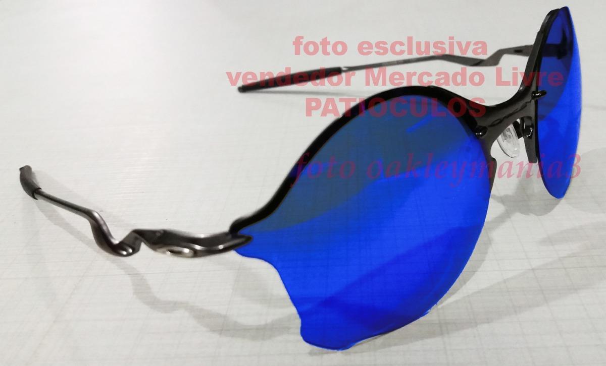 oakley tailend grafite fosco lente blue magic polarized+case. Carregando  zoom. 4e96c63970