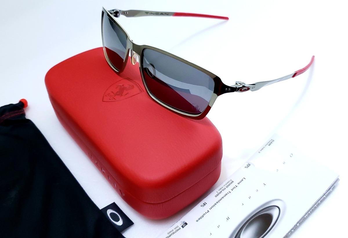 aad6d46b5ea Oakley Tincan Carbon Ferrari Espelhado E Polarizado - R  799