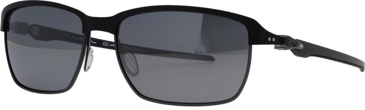 e2f873d956 oakley tinfoil carbon oo6018-02 preto polarizado original. Carregando zoom.