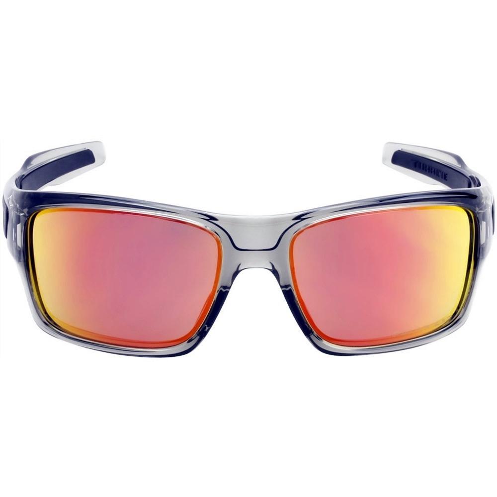 Oakley TURBINE ™ Sunglasses (Grey ink Ruby iridium