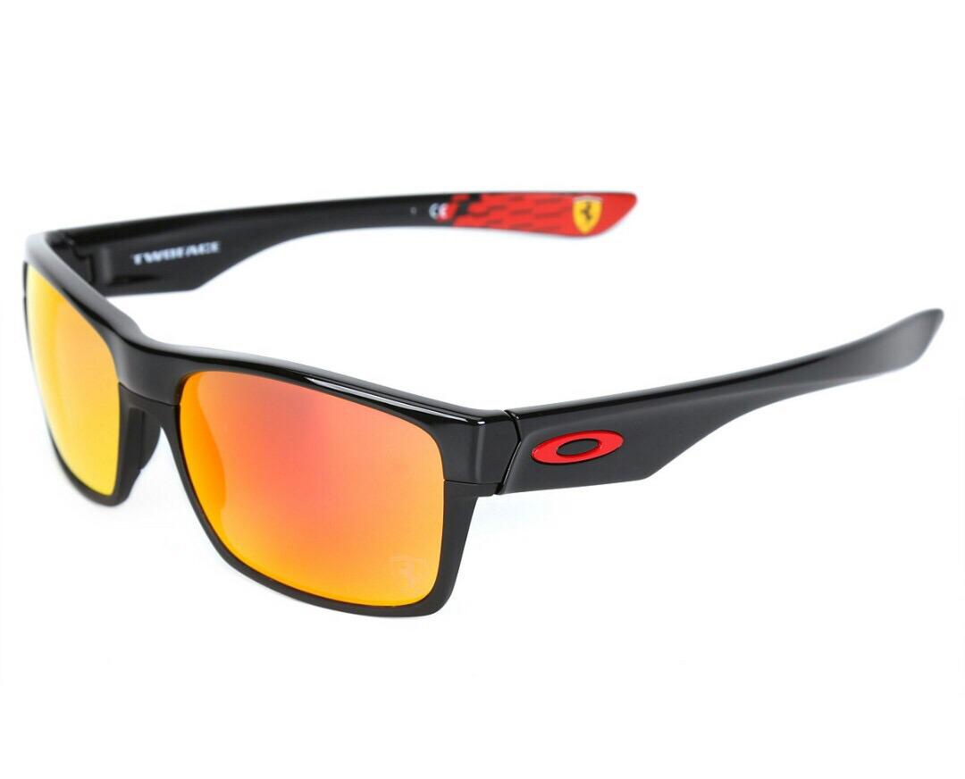 74250c7e6c1df where to buy oakley ferrari sunglasses b1880 8dd0f  australia oakley  twoface ferrari polished black ruby original. carregando zoom. 46d85 65d66