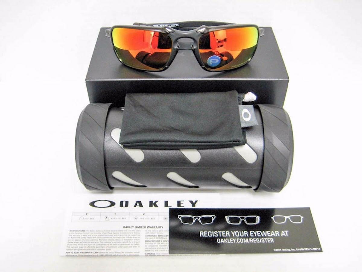 0434636db7 oakley x-metal badman dark carbon - ruby iridium polarized. Cargando zoom.