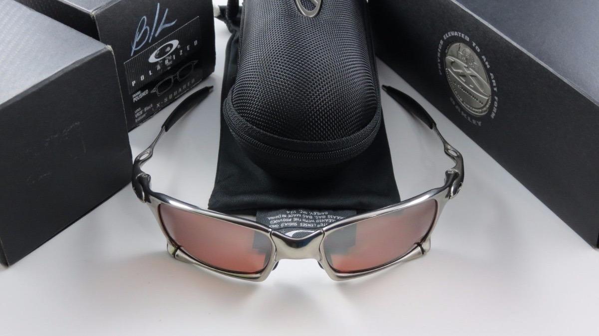 6c2a2ed19e8 Oakley X-squared Polished vr28 Black Iridium Polarized - R  3.300