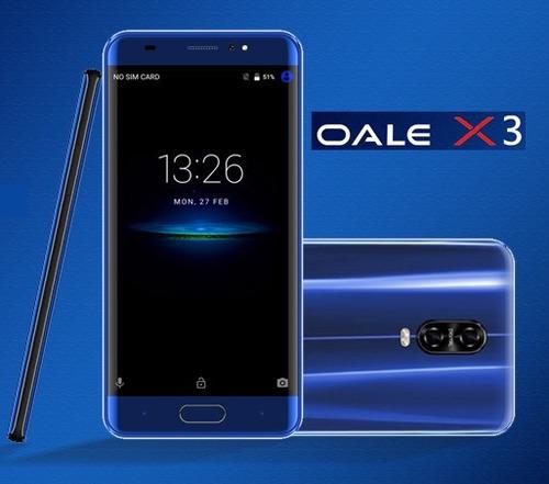 oale x3 sensor huella quad core 16gb dual sim telcel at&t