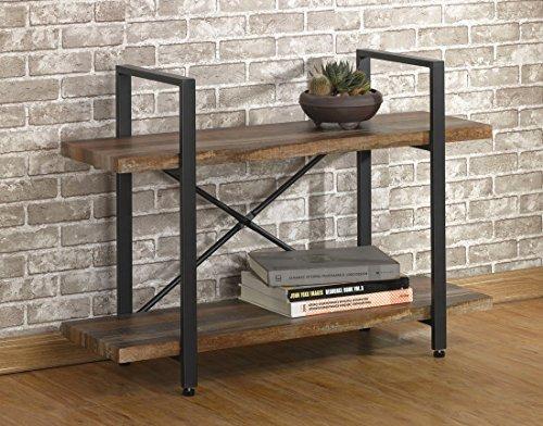 Oampk Furniture Estanterias De Metal De Madera Rustica De - Estanterias-rusticas-de-madera