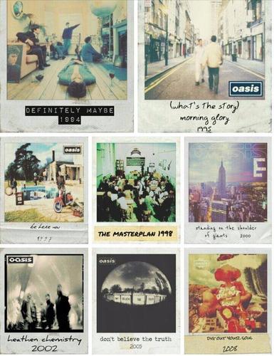 oasis discografía completa 10 cd nuevo sellado original
