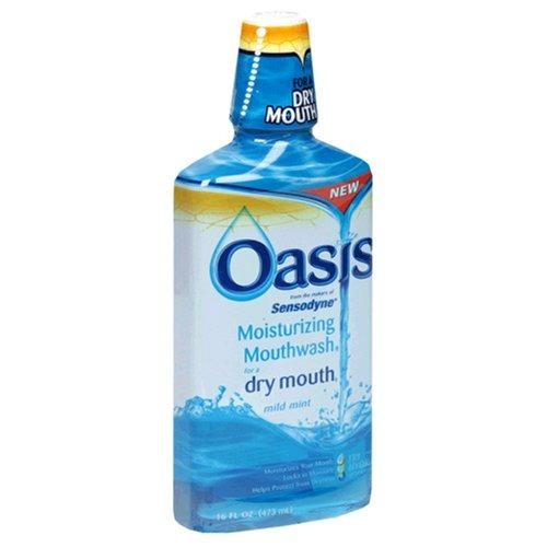 oasis enjuague bucal humectante para una boca seca mint suav