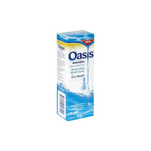 oasis mouth moisturizing spray, mild mint, 1 fl oz (30 ml) (