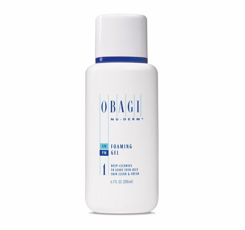 obagi nu-derm foaming gel 200ml cuidado de la piel