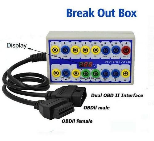obd2 break-box protector de escaner y detector de protocolo
