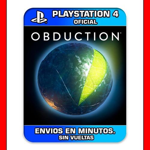 obduction ps4 preventa digital n°1 en ventas en argentina