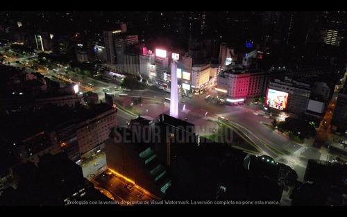 obelisco-noche, diagonal