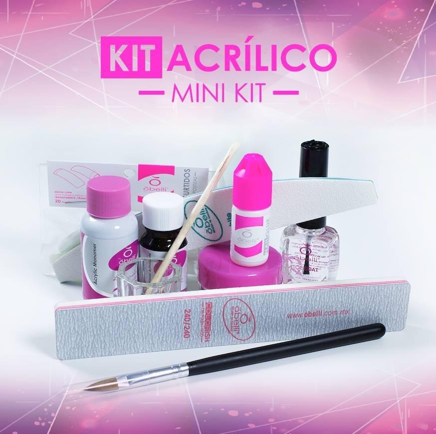 Obelli Kit De Uñas Acrilico Mini - $ 355.00 en Mercado Libre